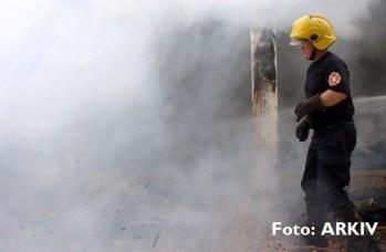 Zjarri në fshatin Kuk shkrumboi një plevicë!