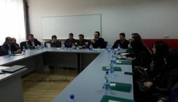 Pamje nga takimi në Dragash