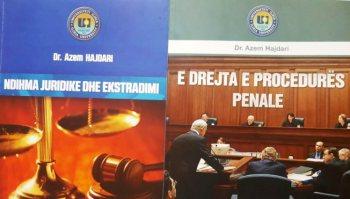 Dr. Azem Hajdari ofronë dije të reja në fushën e drejtësisë!