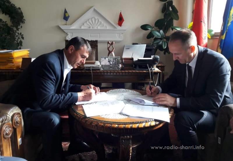 Telekomi i Kosovës, marrëveshje me Komunën e Dragashit
