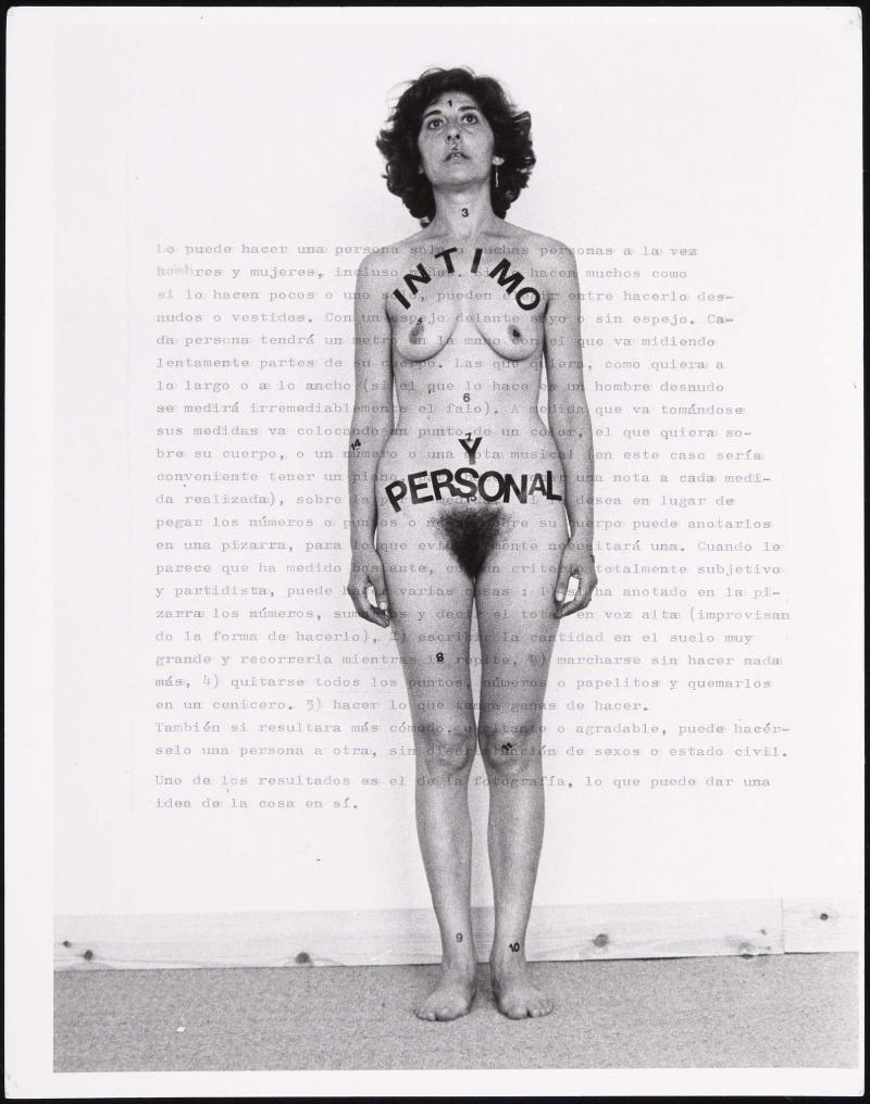 Esther Ferrero Íntimo y personal, 1977. Museo Reina Sofía