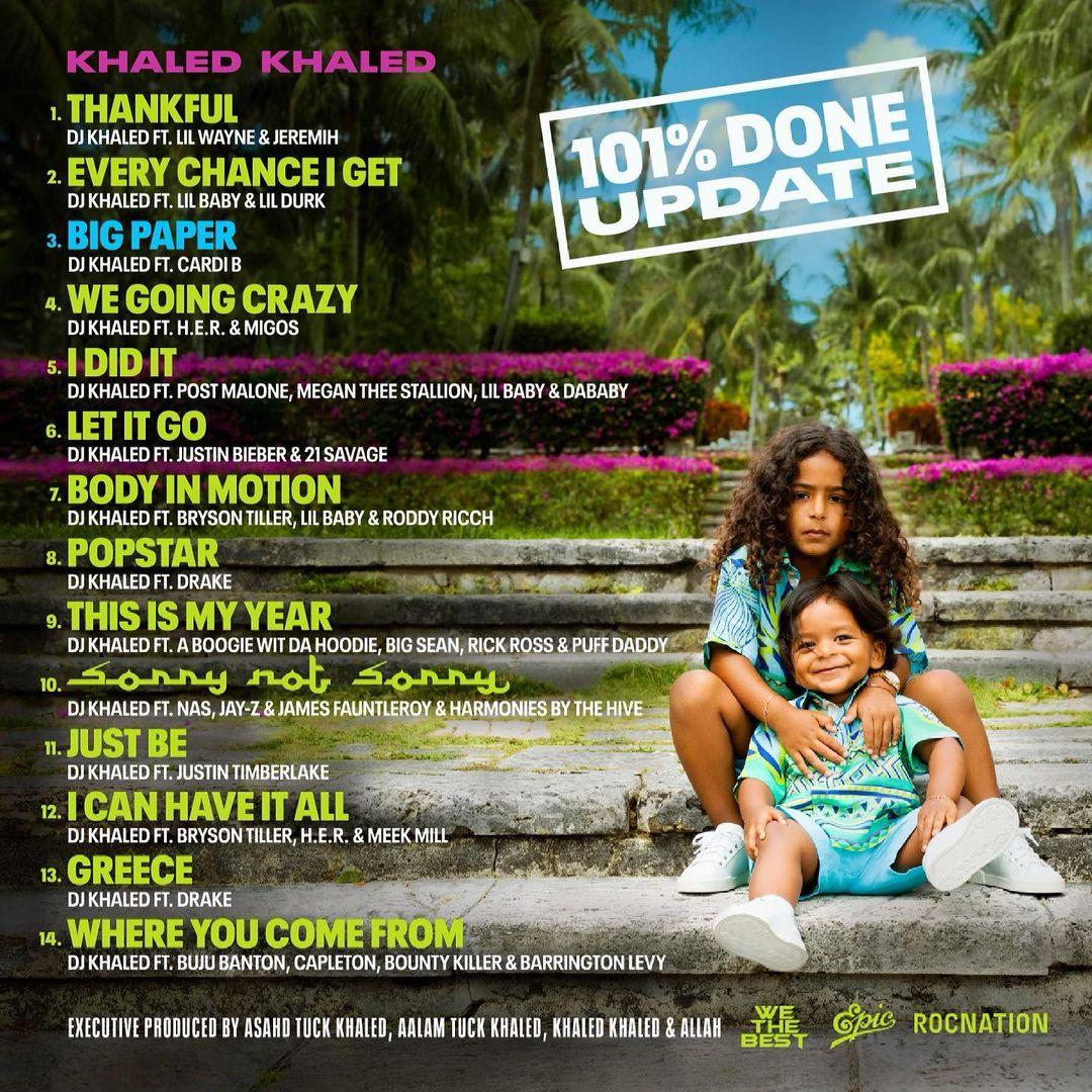 Khaled Khaled album