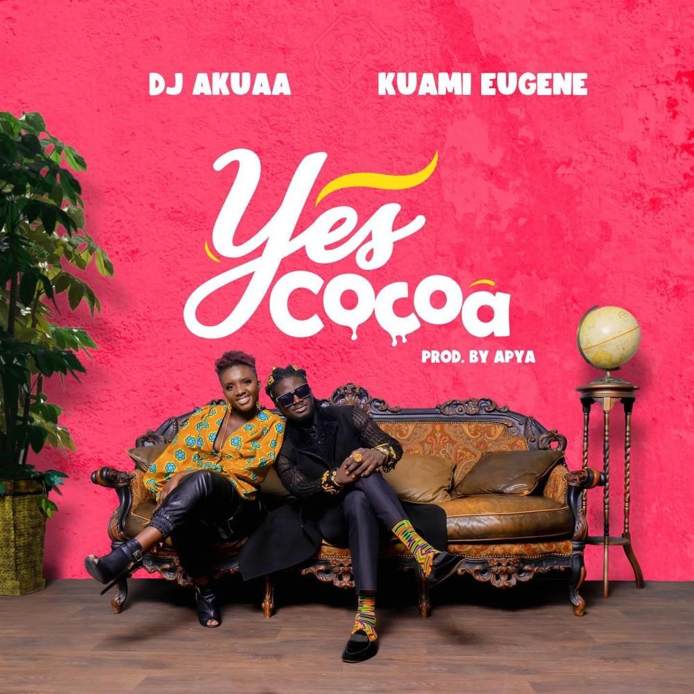 DJ Akuaa enlists Kuami Eugene for new song - Yes Cocoa