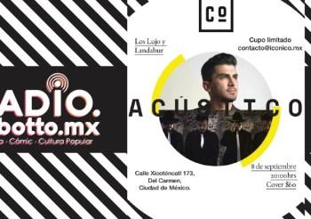 Landabur presentará show acústico en Coyoacán