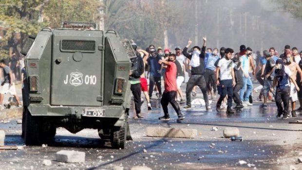 Protestas-en-Santiago