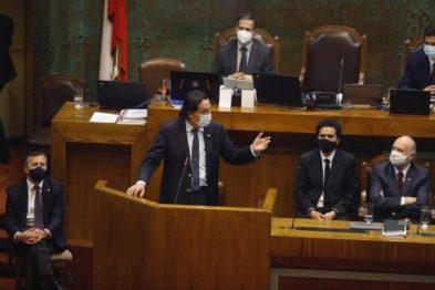 """En su intervención, el ministro del Interior, Víctor Pérez, se defendió argumentando que él y el Gobierno actuaron de la manera """"más adecuada posible"""". Foto: Ministerio del Interior."""