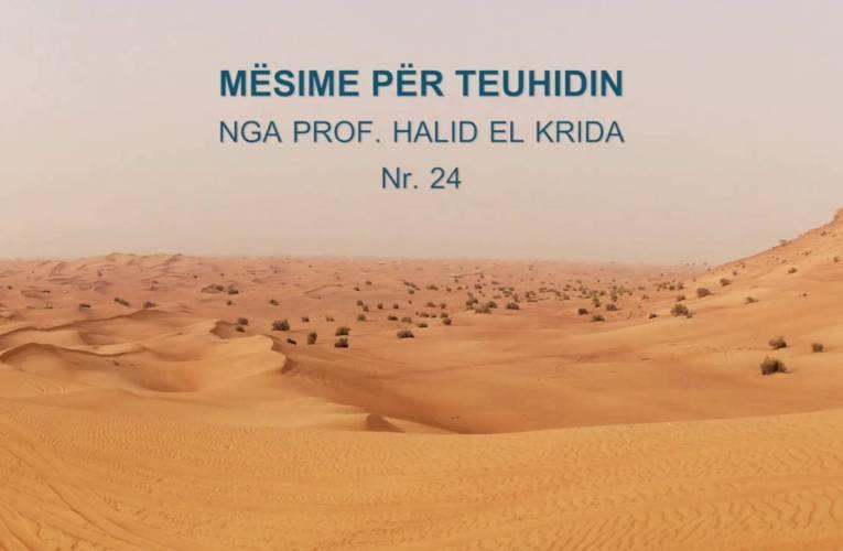 TEUHIDI 24 Prof. Halid El Krida
