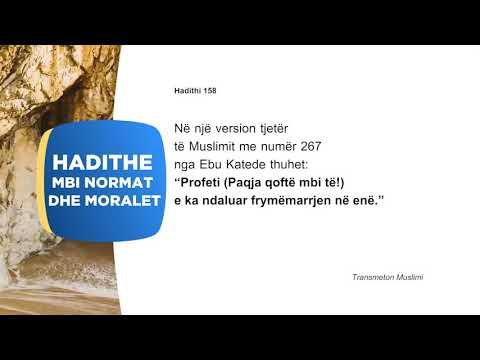Hadithet e moralit 58 | Tema e mospelqimit te leshimit te frymes ne ene dhe pelqimi i marrjes fryme
