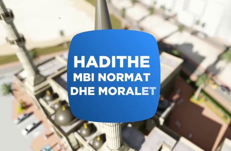 Hadithet e moralit – 73 Tema e rregullave te endrres dhe cfare lidhet me te…