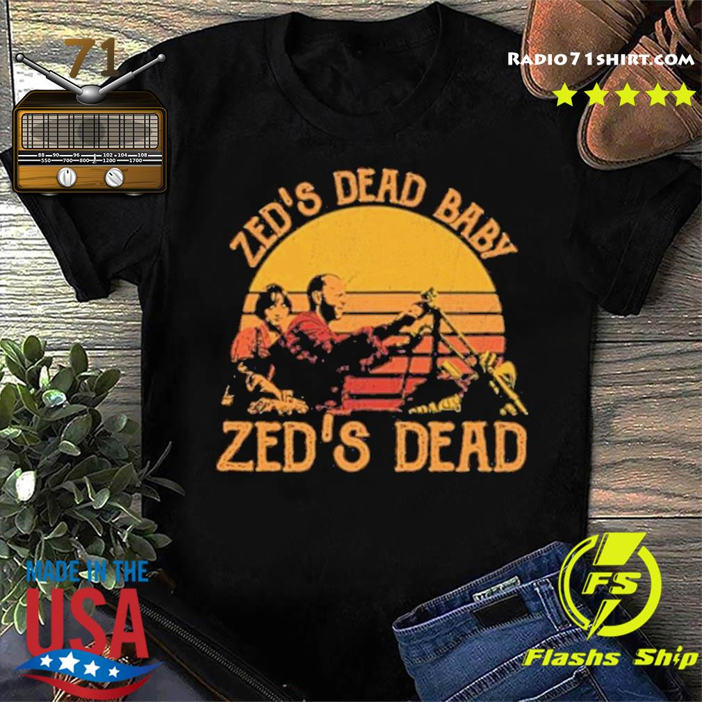 Zeds Dead Baby Zed S Dead Vintage Shirt Hoodie Sweater Long Sleeve And Tank Top