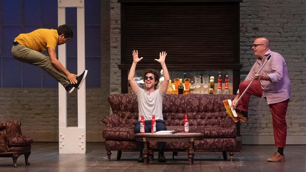 """Campi regresa a escena con la comedia """"Los bonobos"""" en la sala porteña Lola Membrives,"""