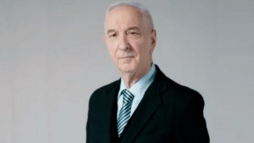 El periodista y conductor Mauro Viale, homenajeado.
