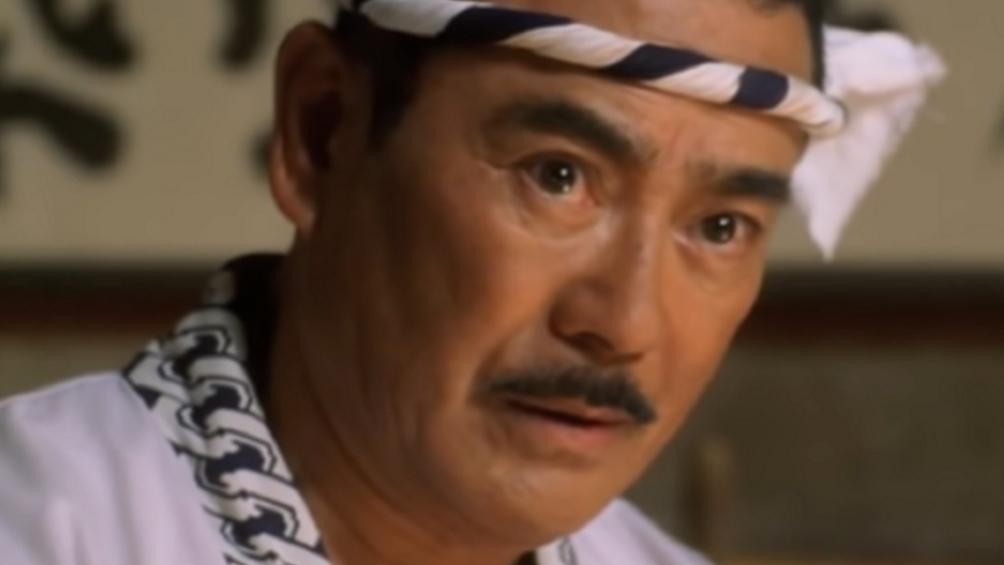"""Sonny Chiba, el actor y experto en artes marciales japonés como Hattori Hanzo en """"Kill Bill"""""""