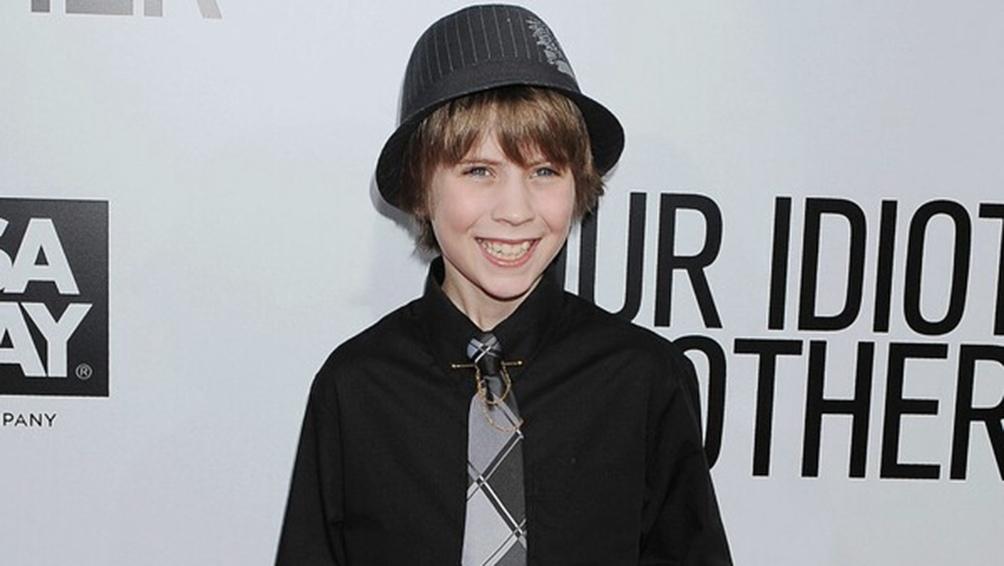 Matthew Mindler, de 19 años, actuó de niño en la película de 2011, Our Idiot Brother, protagonizada por Paul Rudd.