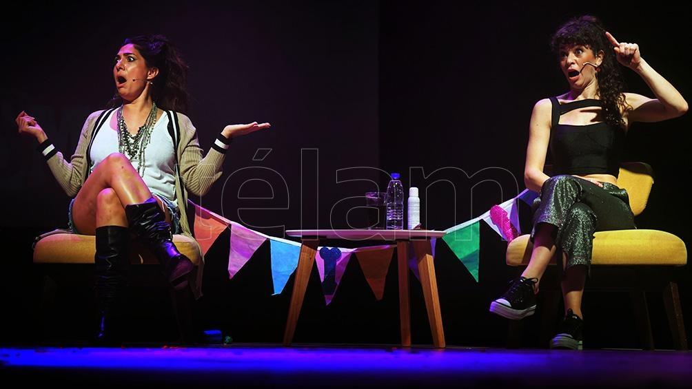 Ballarini y Metilli, química al servicio de un humor singular (Foto: Julián Alvarez)
