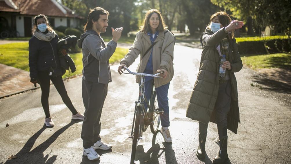 Laura Novoa como María Marta García Belsunce en la serie de Daniel Goggi. Crédito: Producción.