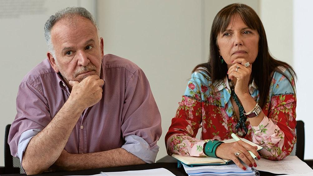 El realizador Marcelo Piñeyro y la escritora Claudia Piñeiro son los creadores de El Reino.