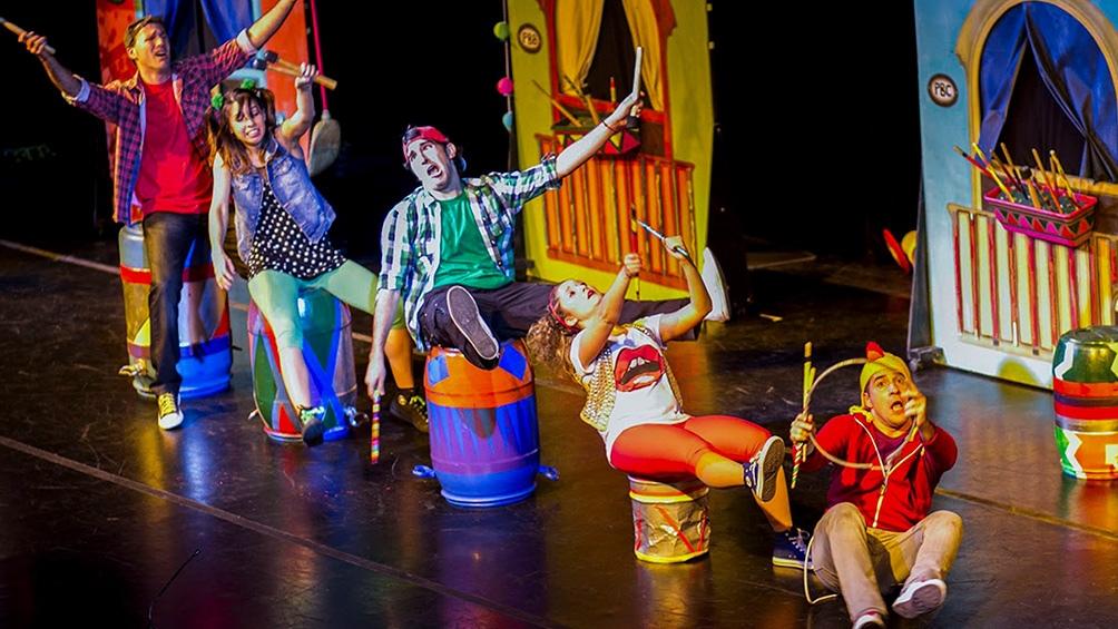 """""""Volver a jugar"""", de Les Ivans Circus"""