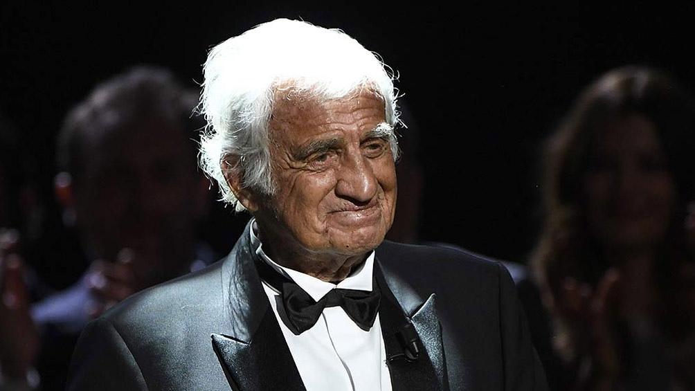 El recordado actor francès homenajeado en los premios Cesar de 2017.