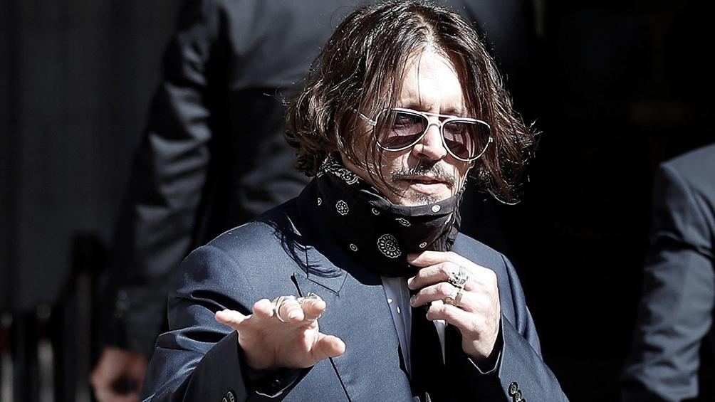 Johnny Depp fue acusado por su exesposa por maltratos físicos, verbales y psicológicos.