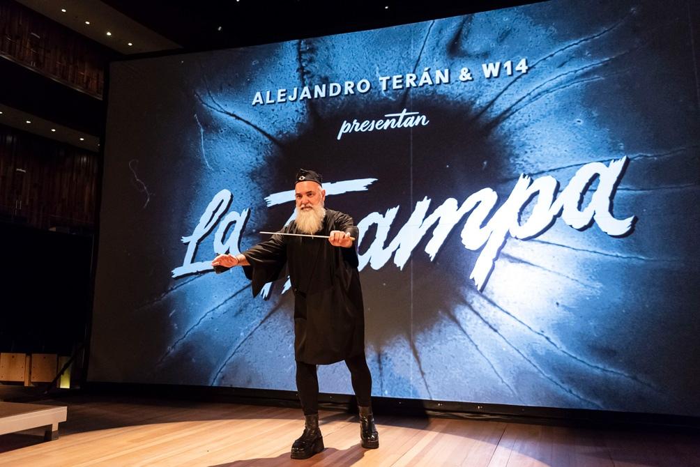 """""""La Trampa"""", la propuesta conducida por Alejandro Terán."""