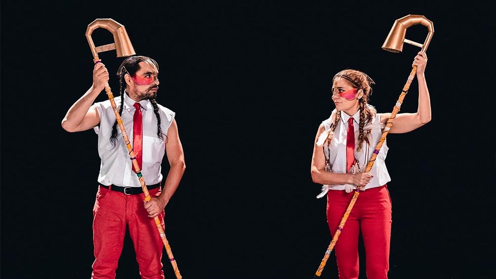 Sany Riaño y Andrea Feiguin, un dúo para tener en cuenta.