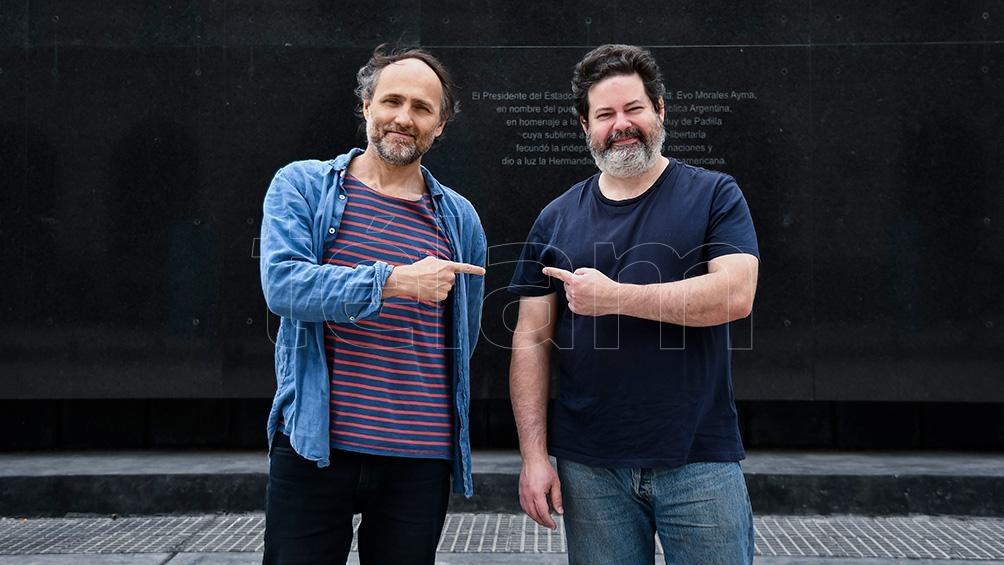 Fernando Martín Peña y Roger Koza volverán a las medianoches de sábado y domingo (foto Eliana Obregón).
