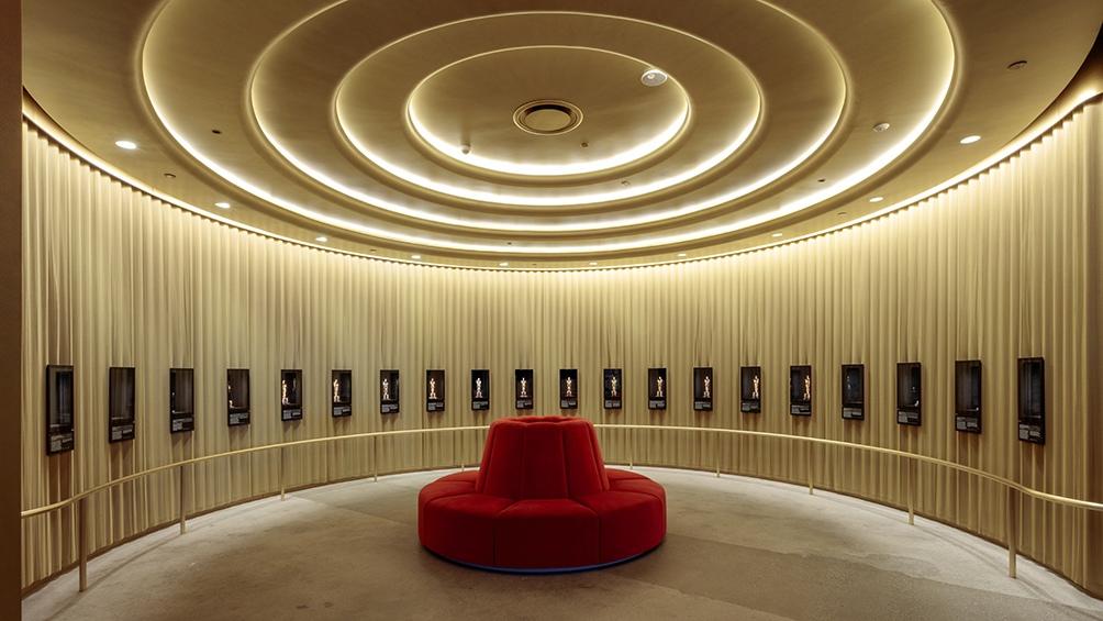 La sala que memora las entregas de los premios Oscar (Foto: AMMP)
