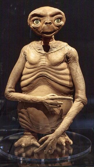 """E.T. El extraterrestre"", según el diseño del filme de Steven Spielberg (Foto: AMPP/Joshua White)"