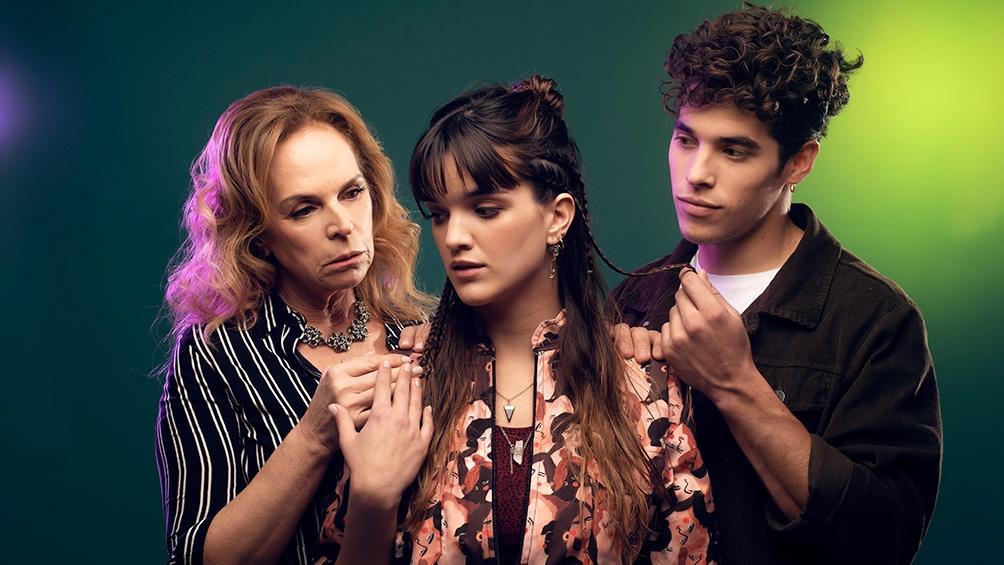 """Érica (Malena Ratner), Inti (""""El Purre"""") y Susana (Eugenia Bonel), tres personajes complejos que enfrentarán la fantasía y la realidad."""