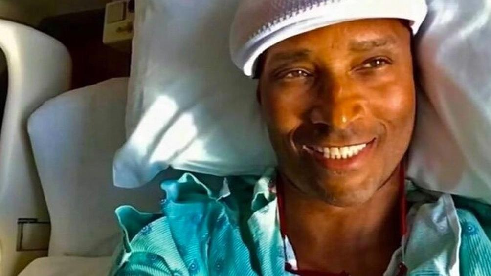 El actor anunció que tenía cáncer en diciembre con un mensaje en sus redes sociales con una foto suya en un hospital.