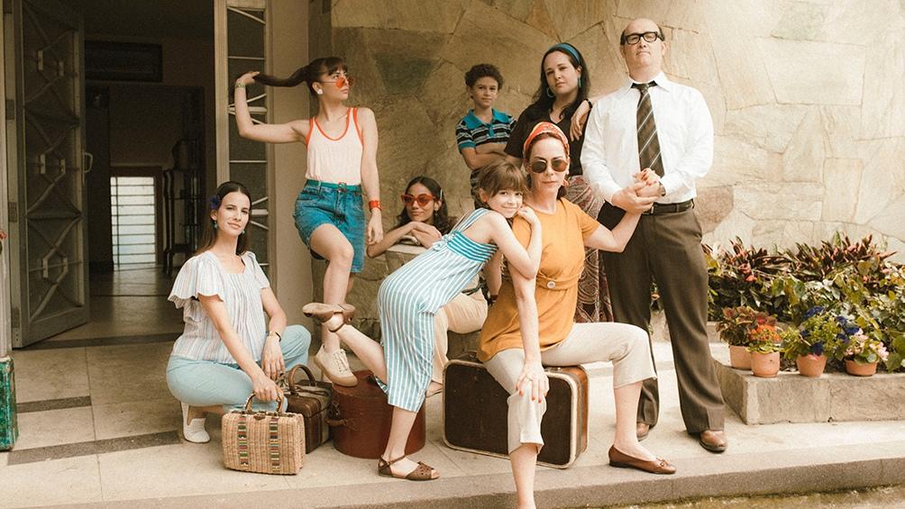 """El elenco de """"El olvido que seremos"""", el filme colombiano dirigido por el español Fernando Trueba"""