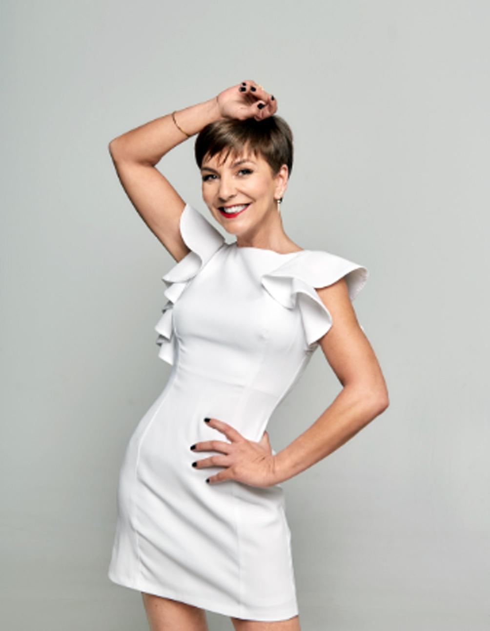 La presentadora chilena es muy popular en su país.