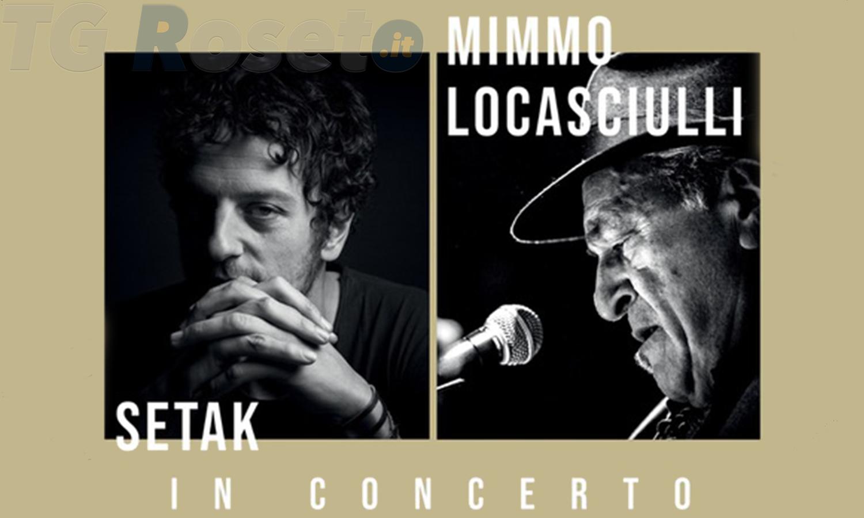 Penne, concerto Mimmo Locasciulli e Setak