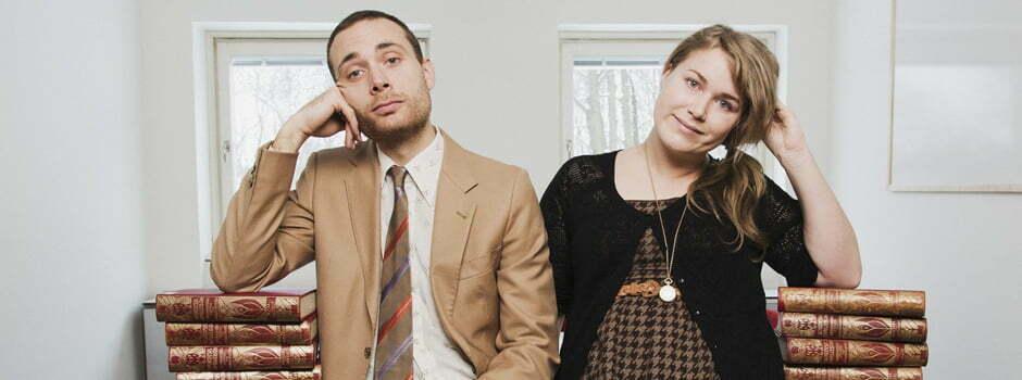 Institutet med Karin och Jesper i P3 Foto: Mattias Ahlm/Sveriges Radio