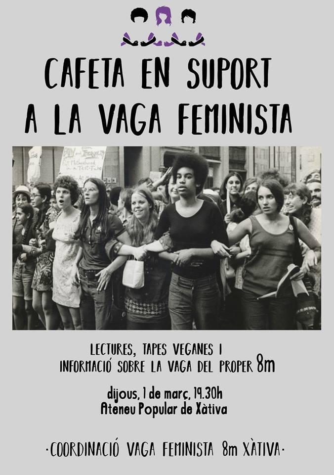 cafeta vaga feminista
