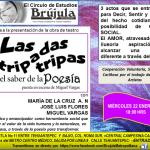 Invitación Obra de Teatro entrada libre