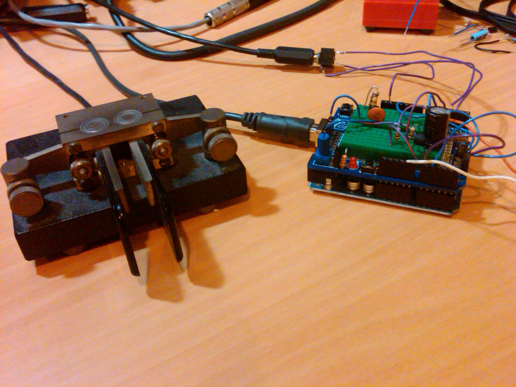 From The Workbench Arduino Cw Keyer Radio Artisan