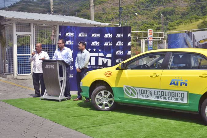 ATM PRESENTA SEGUNDO AUTO ECOLÓGICO PARA PRUEBAS EN GUAYAQUIL.