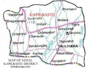 Kapilbastu-Map