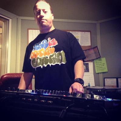 @djjasond is killin' it as usual on The Wreck and getting us closer to our Radiothon goal. Help him finish strong: (208) 258-2072, http://radioboise.us, 1020 W. Main St. in the basement. #krbxfallradiothon #radioboise #boise #idaho #communityradio