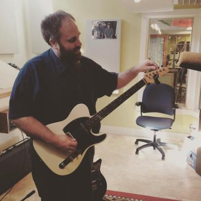 The Very Most's Jeremy Jensen is in the house getting ready to play some tunes during Idle Afternoons' Fall Radiothon show. Donate: (208) 258-2072, http://radioboise.us, 1020 W. Main St. in the basement. #KRBXFallRadiothon #radioboise #boise #idaho