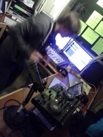 RadioBoise_InStudioDancingGuy_2012