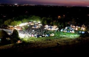 Hyde Park Street Fair at Night. Photo by Patrick Sweeney.