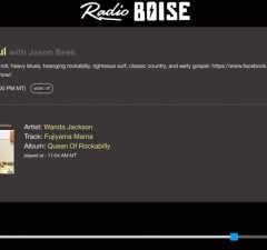 Listen to Radio Boise's new online player