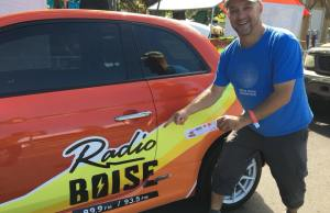 Win a 2015 Fiat 500e electric vehicle with Radio Boise!