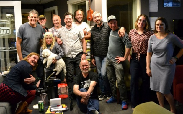 2019 Spring Radiothon wrap partygoers celebrate a successful fundraising campaign