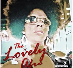 The Lovely Afro with Leta show logo