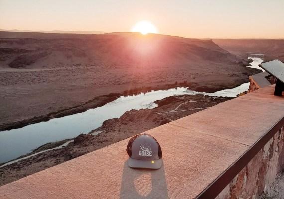 Sunset at Snake River Canyon