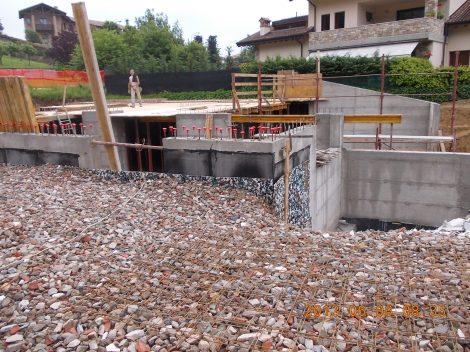 Foto 1 - Sistema guaina bituminosa e protezione anti danneggiamento